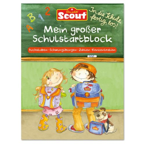 Scout Mein großer Schulstartblock