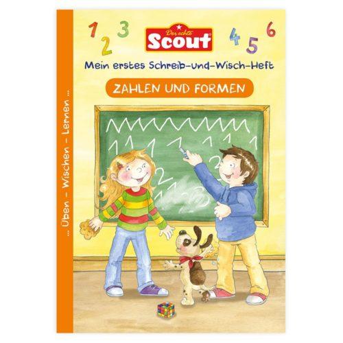 Scout - Mein erstes Schreib-und-Wisch-Heft - Zahlen und Formen