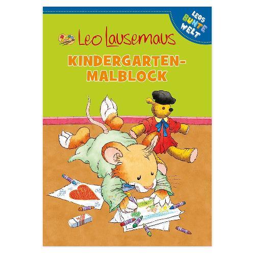 Leo Lausemaus - Kindergarten-Malblock