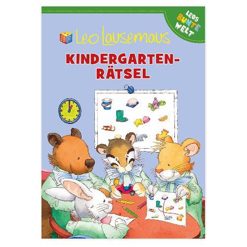 Leo Lausemaus - Kindergarten-Rätsel