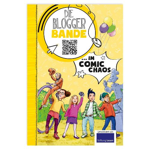 Die Bloggerbande… im Comic-Chaos