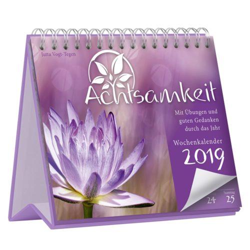 Achtsamkeit Wochenkalender 2019