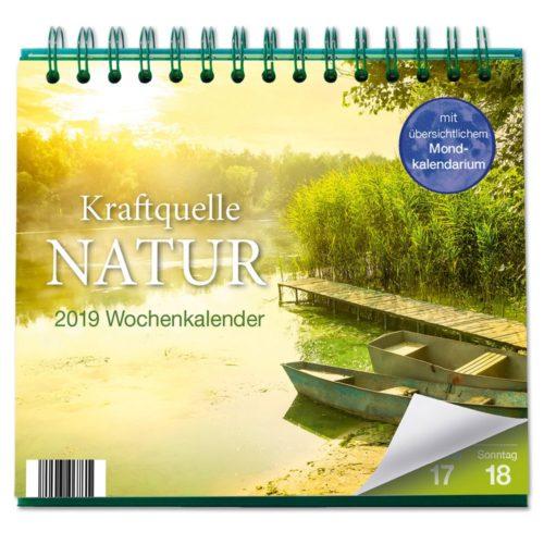 Tischkalender 2019 - Kraftquelle Natur