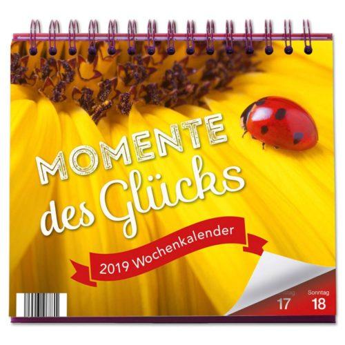 Tischkalender 2019 - Momente des Glücks
