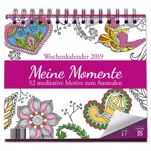 Tischkalender 2019 - Meine Momente