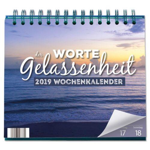 Tischkalender 2019 - Worte der Gelassenheit