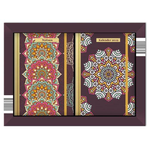 Taschenkalender Set 2019 - Orient