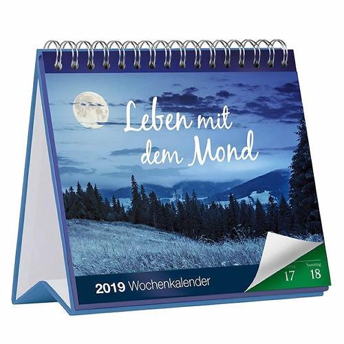 Leben mit dem Mond Tischkalender 2019