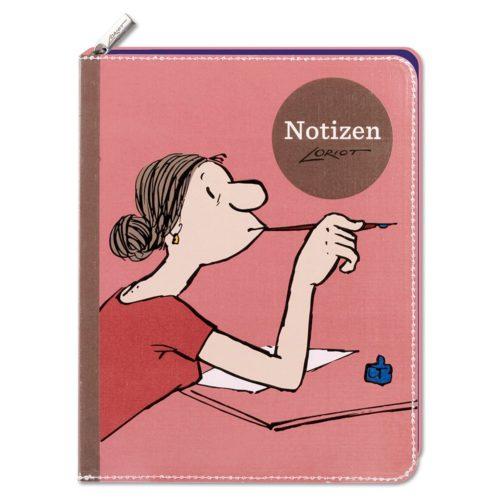 Loriot - Notizbuch Frauen