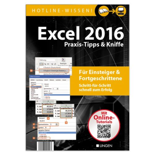 Excel 2016 - Praxis-Tipps & Kniffe