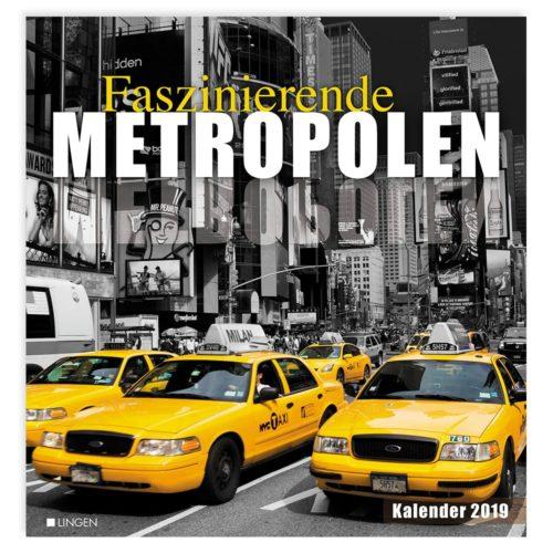 Dekokalender 2019: Metropolen