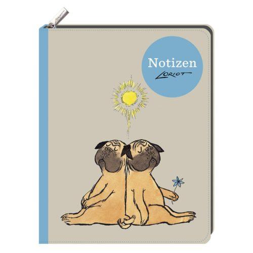 Loriot - Notizbuch Mops