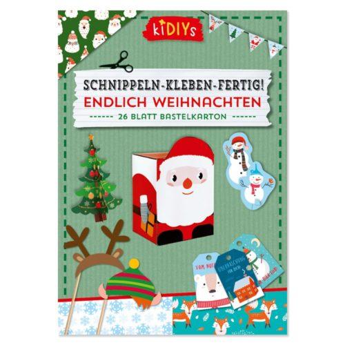Schnippeln - Kleben - Fertig! Endlich Weihnachten