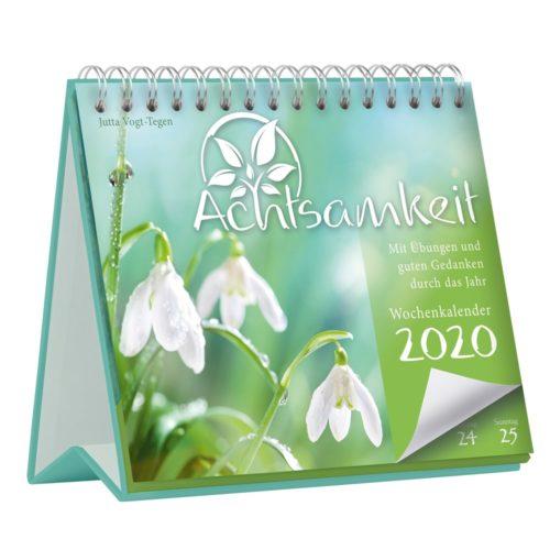 Achtsamkeit Wochenkalender 2020