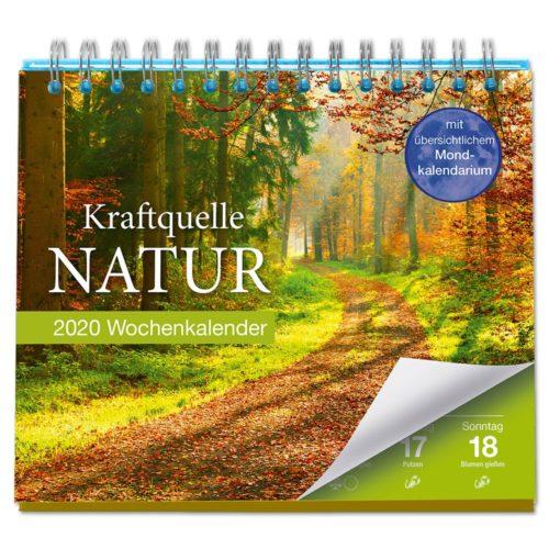 Tischkalender 2020 - Kraftquelle Natur
