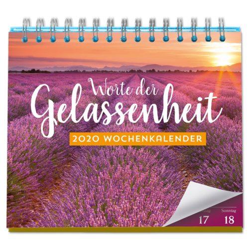 Tischkalender 2020 - Worte der Gelassenheit