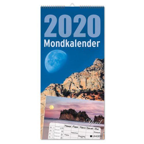Streifenkalender 2020 - Mond