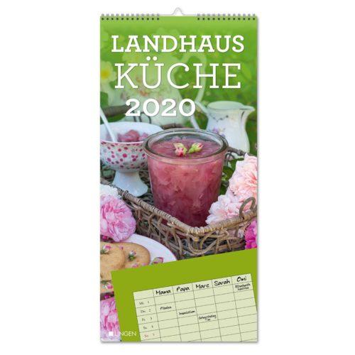 Streifenkalender 2020 - Landhausküche