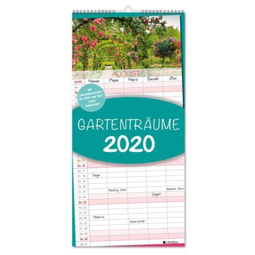 Streifenkalender 2020 - Garten