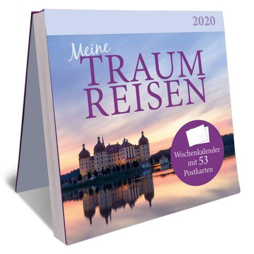 Postkarten-Kalender 2020 - Traumreisen