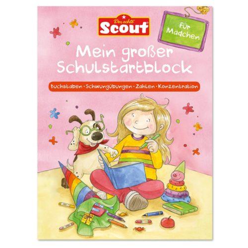Scout - Mein großer Schulstartblock für Mädchen