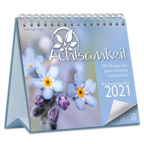 Achtsamkeit Wochenkalender 2021