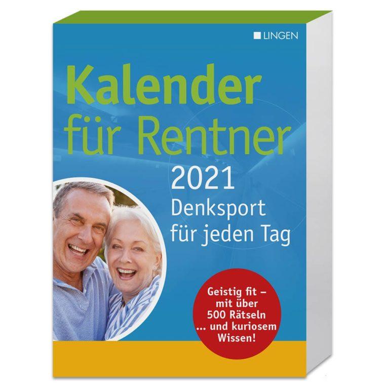 Kalender für Rentner 2021 - lingenverlag.de