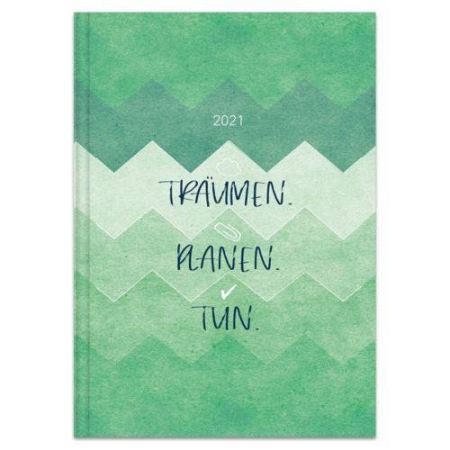 Buchkalender 2021 – Träumen.Planen.Tun