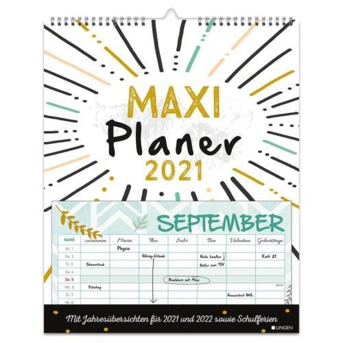 Dekokalender 2021 – Wochenplaner