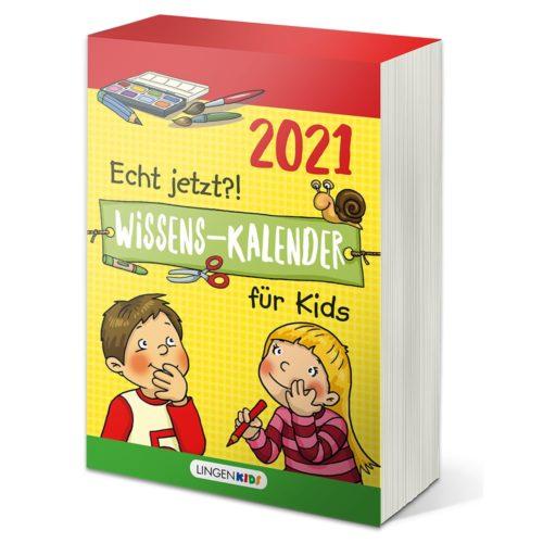 Abreißkalender 2021 – Wissen für Kids