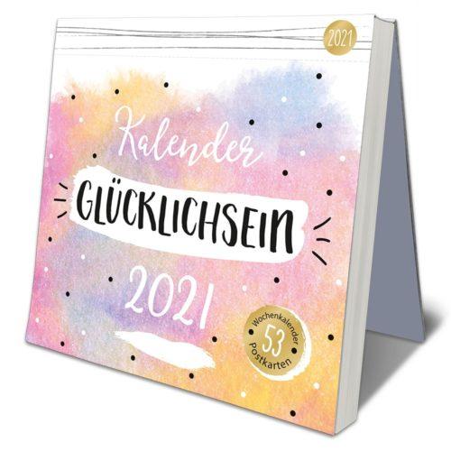 Postkarten-Kalender 2021 – Glücklich sein