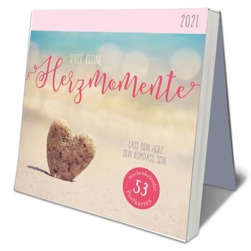 Postkarten-Kalender 2021 – Herzenswünsche