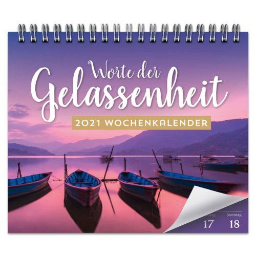 Tischkalender 2021 – Worte der Gelassenheit