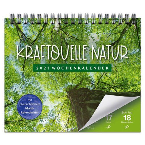 Tischkalender 2021 – Kraftquelle Natur