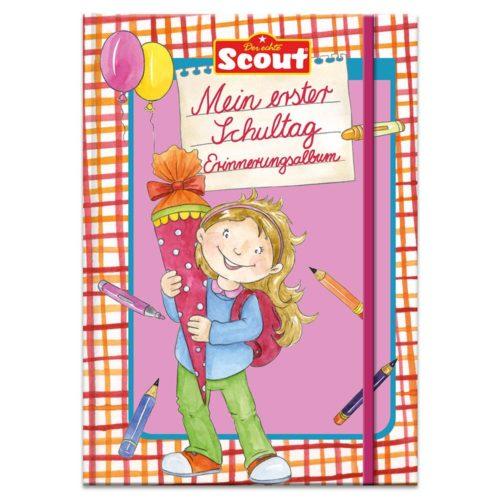 Scout – Mein erster Schultag Erinnerungsalbum (Mädchen)