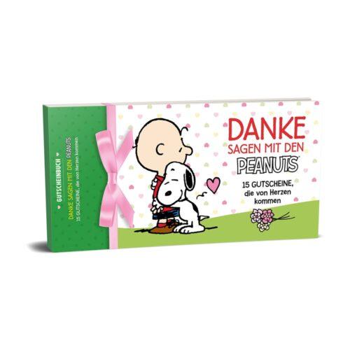 Gutscheinbuch - Danke sagen mit den Peanuts