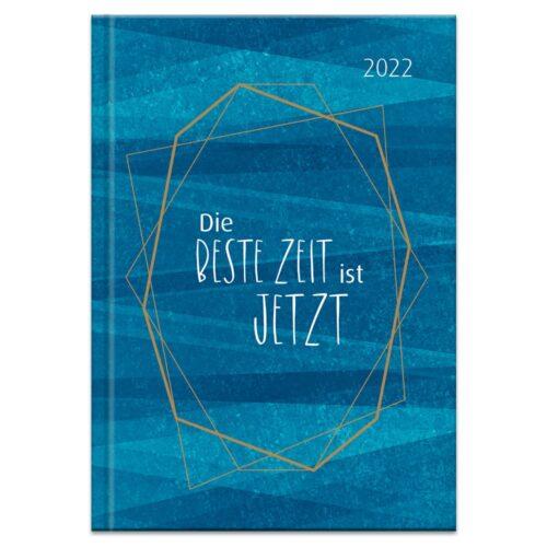 Buchkalender 2022 – Die beste Zeit ist jetzt