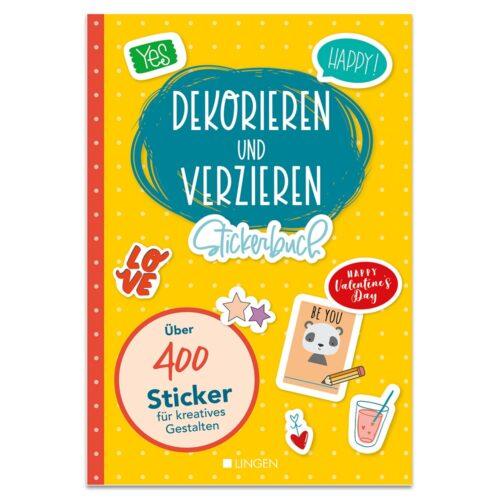 Stickerbuch – Dekorieren und Verzieren